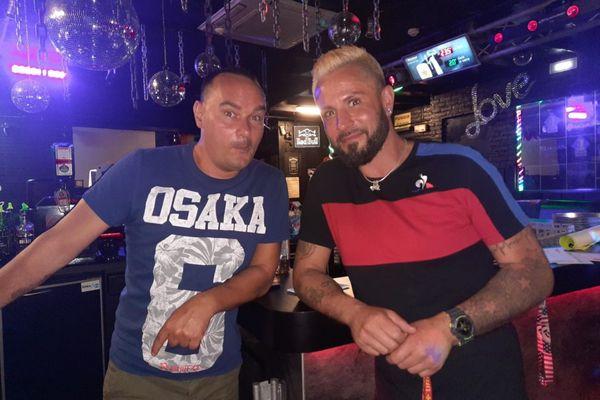 Gérard Samoyeau et Yann Siloret attendent impatiemment de pouvoir rouvrir leur discothèque.