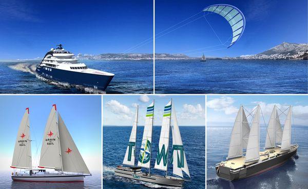 4 sociétés françaises qui ont le vent en poupe, toutes spécialisées dans le transport plus propres des marchandises