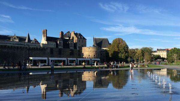 Le Château des Ducs de Bretagne à Nantes.