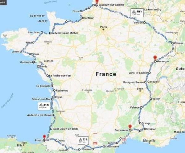 Le tour de France de Claude Porquet