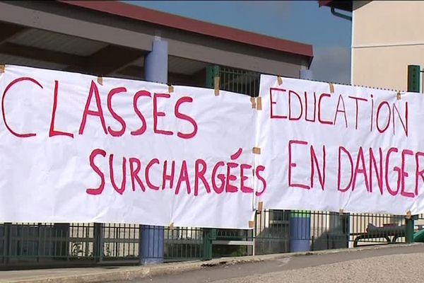 À l'école Charles Péguy de Pontarlier, les parents se mobilisent pour conserver la septième classe de l'école