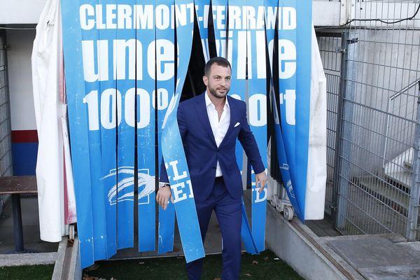 Ahamet Schaffer, le président du Clermont Foot 63 depuis mars 2019
