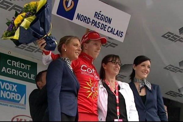 Le Suédois Jonas Ahlstrand (Cofidis) a remporté au sprint la deuxième étape des Quatre jours de Dunkerque