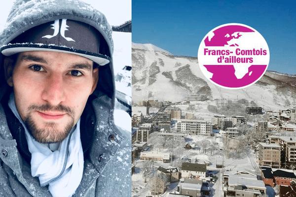 Joffrey Villa vit au Japon, dans une station de ski.