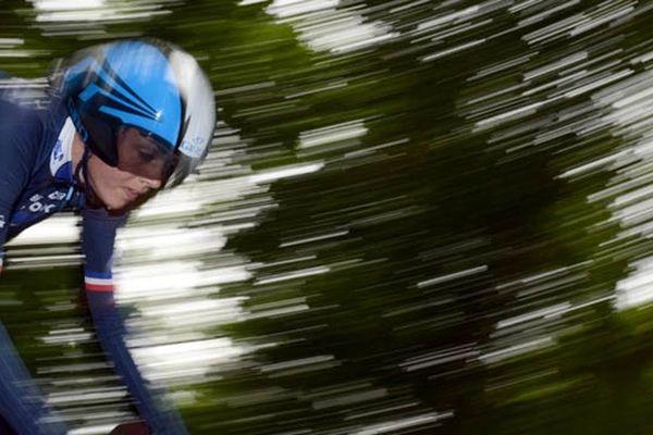 Audrey Cordon aux Mondiaux de Cyclisme sur route