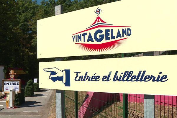 Le parc Vintageland s'installe dans un premier temps sur les emprises du motel de l'aire de Beaune-Tailly