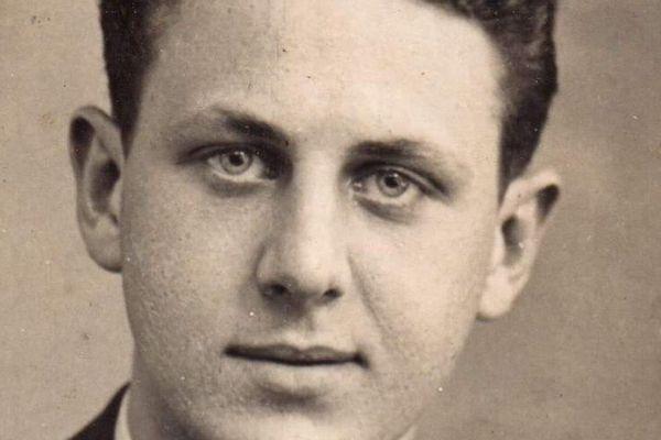 Le portrait de Lucien Scour, résitant finistérien mort au maquis, dans l'Ain