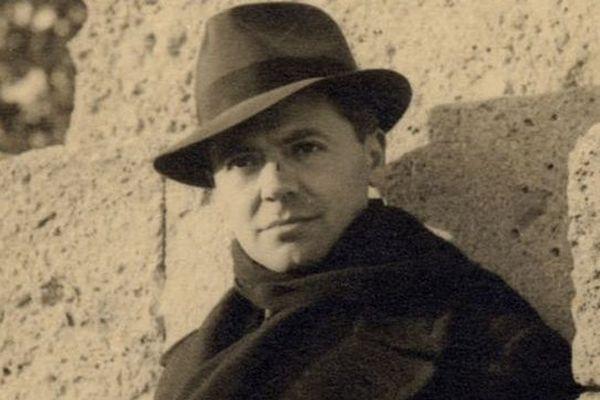 La photo de Jean Moulin prise par un ami d'enfance à Montpellier durant l'hiver 39