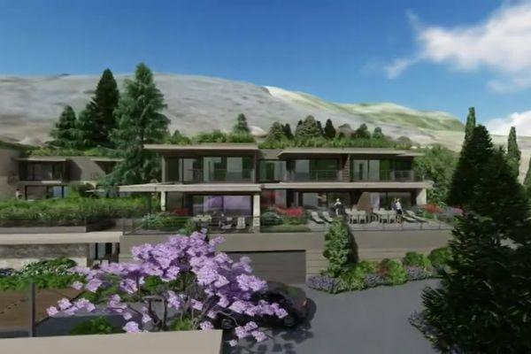 Projet immobilier à Gourdon