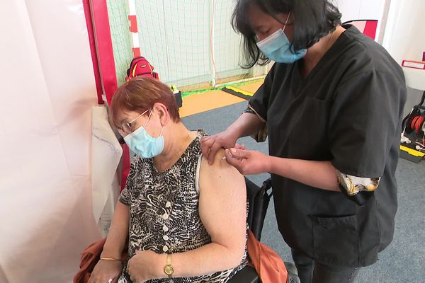 Le gymnase Le Phare à Belfort double sa capacité de vaccination à compter du 12 avril.