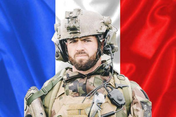 Le Caporal-chef Maxime Blasco du 7e bataillon de chasseurs alpin, tué au combat au Mali le 24 septembre 2021