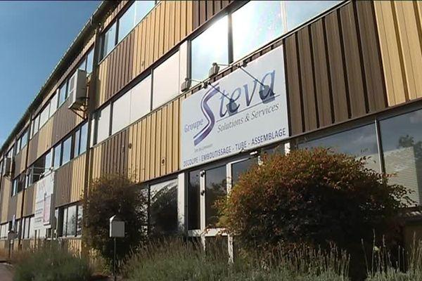 Le site de Steva, à Bessines-sur-Gartempe, où 114 emplois sont menacés.