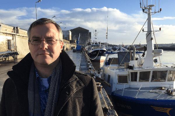 Olivier Le Nezet, président des pêches de Bretagne et du Morbihan ne décolère pas...