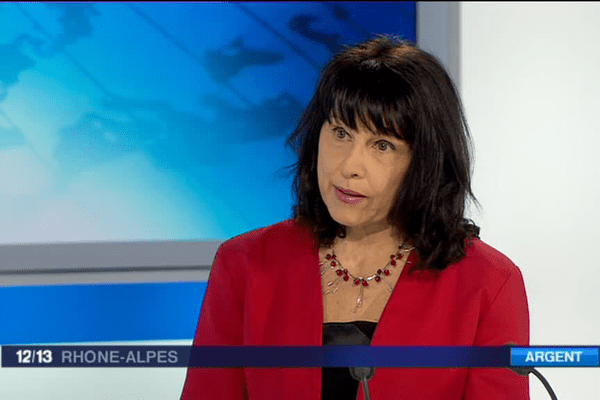 Odile Dubreuil, vice-présidente ordre des experts-comptables Rhône-Alpes.
