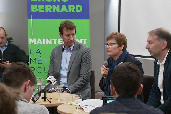 A la Métropole, Bruno Bernard mène la liste écolo pour les métropolitaines 2020.