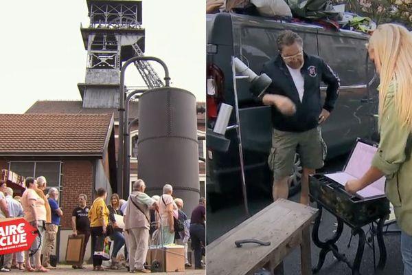 """L'ancienne mine d'Oignies et la Braderie de Lille à l'honneur dans """"Affaire Conclue"""" sur France 2."""