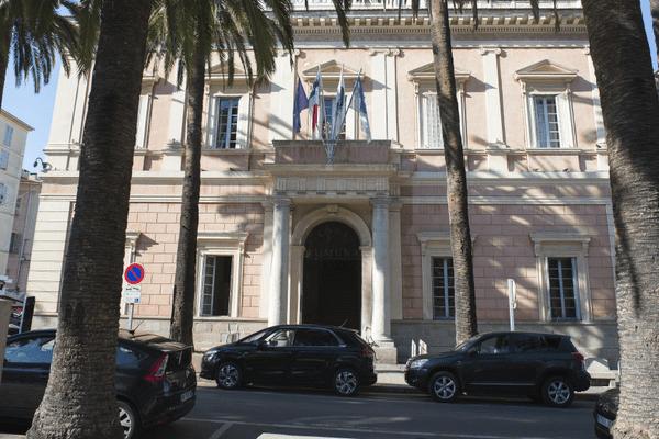 Illustration - La mairie d'Ajaccio (Corse du Sud)