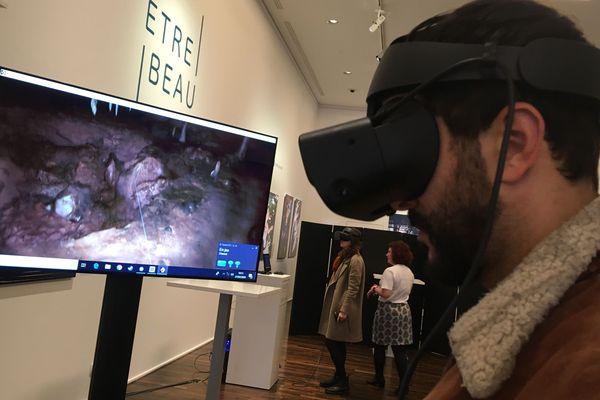 Découvrir la grotte Chauvet d'Ardèche en réalité virtuelle, c'est désormais possible sur Google Arts & Culture - Paris 27/02/20