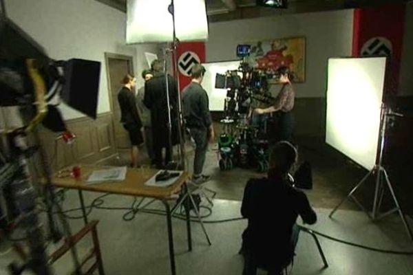 Un atelier de reconstitution de scènes de film par les étudiants de l'école Louis Lumière