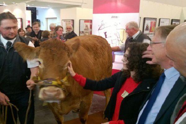 Coco, lauréate du 28ème Grand Prix de l'Humour Vache