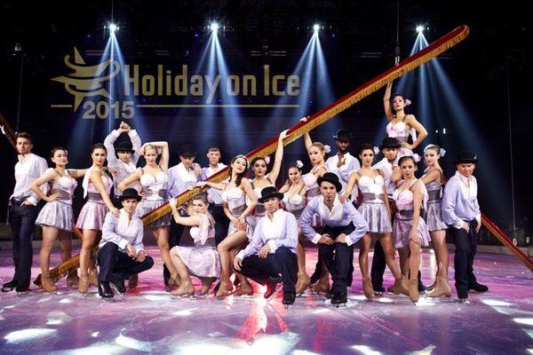 La troupe Holiday on Ice 2015