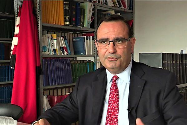 L'enseignant-chercheur Bertrand Pauvert exerce depuis 20 ans à la l'Université Haute-Alsace.
