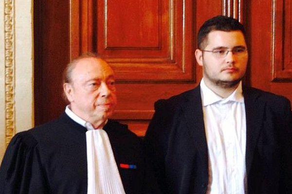 Montpellier - procès en appel de 2 joueurs de rugby de Vendres accusés d'avoir frappé un rugbyman audois de Gruissan - 28 septembre 2015.