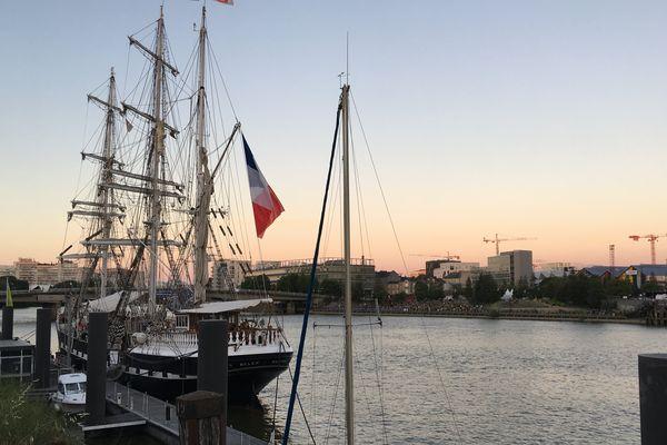 Le voilier Belem à Nantes