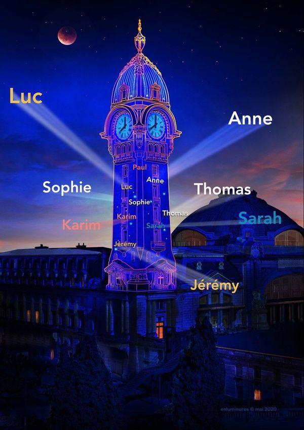 Chaque donateur aura son prénom projeté lors d'un spectacle son et lumière à Limoges.