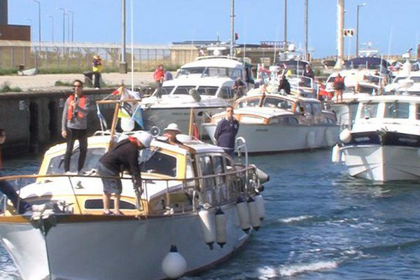 Une cinquantaine de little ships est venue d'Angleterre pour commémorer les 75 ans de l'opération Dynamo