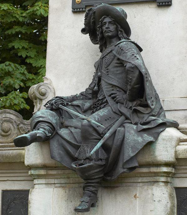 D'Artagnan, est connu dans le monde entier.