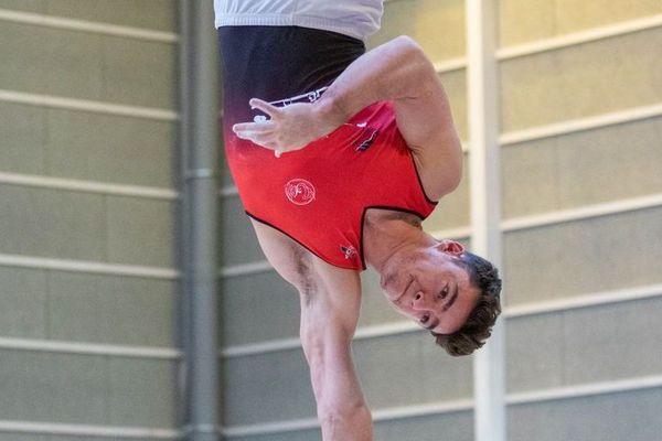 Image d'archives. Le Gymnaste sottevillais, Lucas Desanges, pourrait reprendre l'entraînement cette semaine