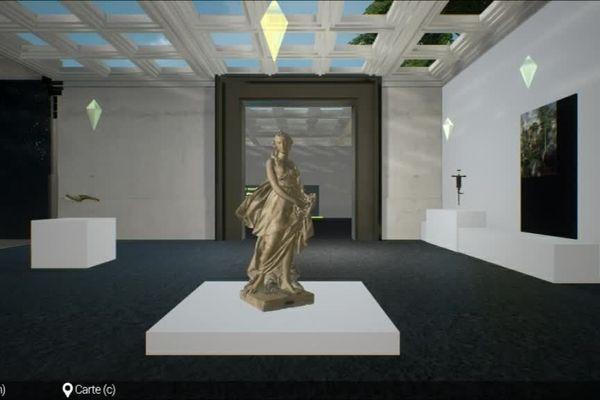 Des œuvres issues des musées de la région en 3 D