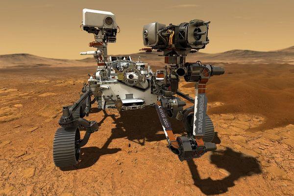 Le rover Persévérance, doté d'instruments encore plus perfectionnés que le robot Curiosity, attérrit sur Mars le 18 février pour une mission de 22 mois minimum.