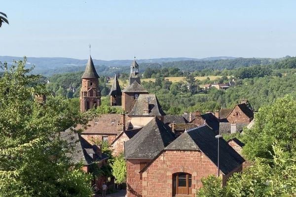 Collonges-la-Rouge en Corrèze.