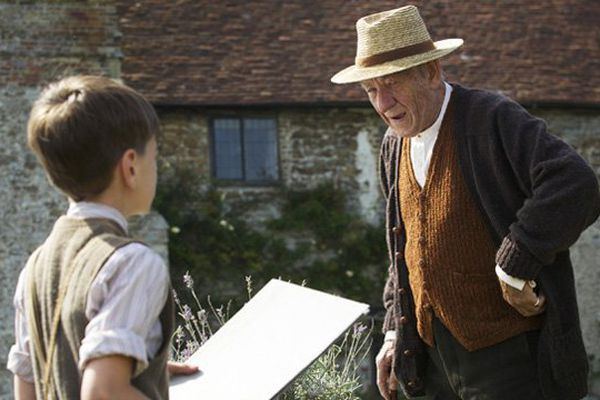 Ian Mc Kellen interprète le célèbre Sherlock Holmes au crépuscule de sa vie