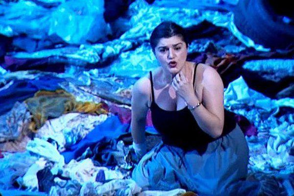 """Anna Kasyan dans Anna Kasyan dans """"Pagliacci"""" à Toulon"""