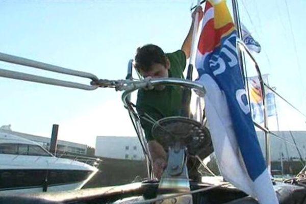 Le skipper Franco-italien sera sur la ligne de départ du prochain Vendée Globe, le 10 novembre.