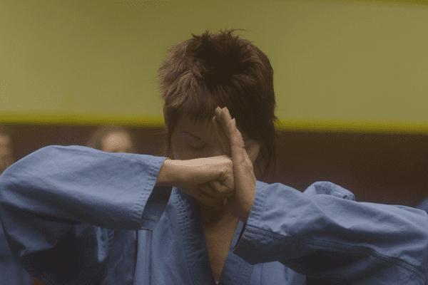 """Laurence Dubois, championne de Viet Vo Dao et héroïne de """"L'oeil du Tigre"""""""
