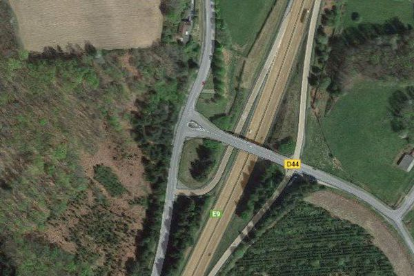 L'accident s'est produit à hauteur de Razès sur l'A20