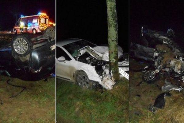 L'accident s'est produit sur la D928 entre Fruges et Fauquembergues