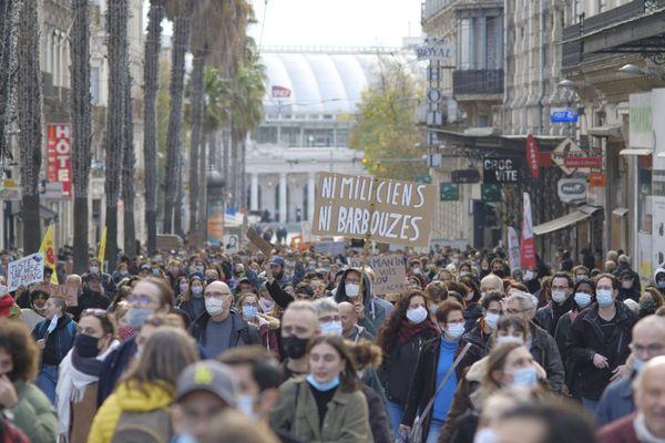 Depuis deux ans, le samedi après-midi les manifestants envahissent le centre-ville - novembre 2020