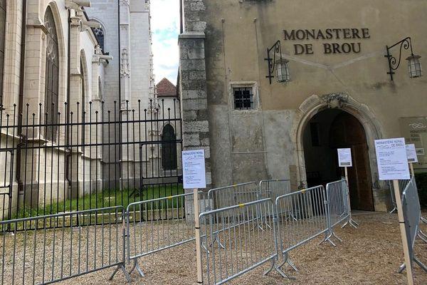 Des précautions sont prises pour la réouverture du Monastère de Brou.