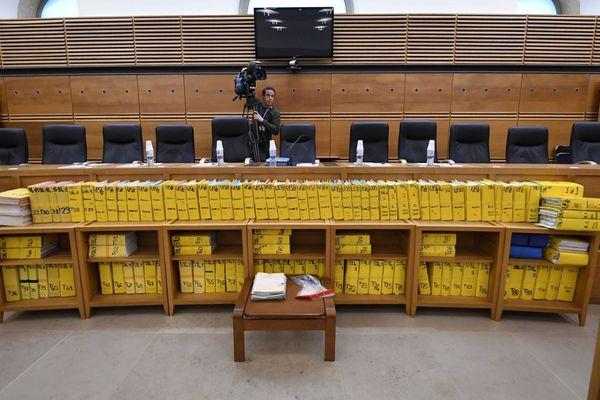 Mars 2019 - Cour d'assises spéciale des Bouches-du-Rhône, les pièces de la procédure fleuve du procès Air Cocaïne.
