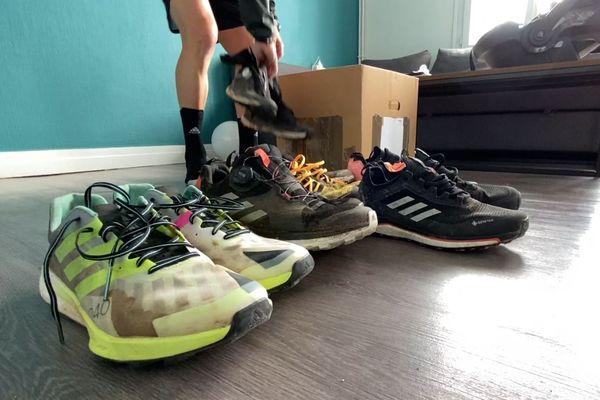 Jérémy Desdouets changera chaque jour de paire de chaussures