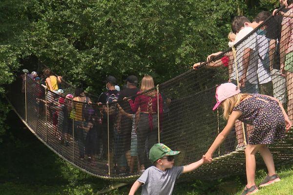 Festyland a fait le plein de visiteurs avant l'instauration du pass-sanitaire.