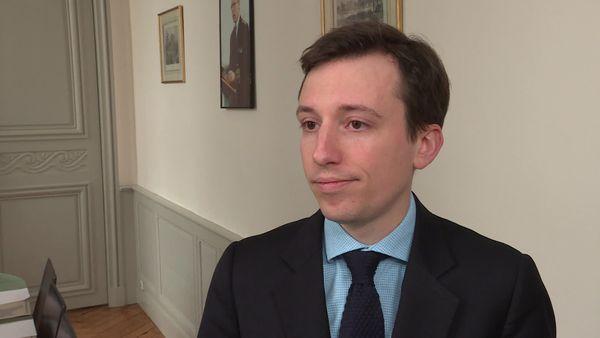 Le sous-préfet de Loire-Atlantique Baptiste Mandard.