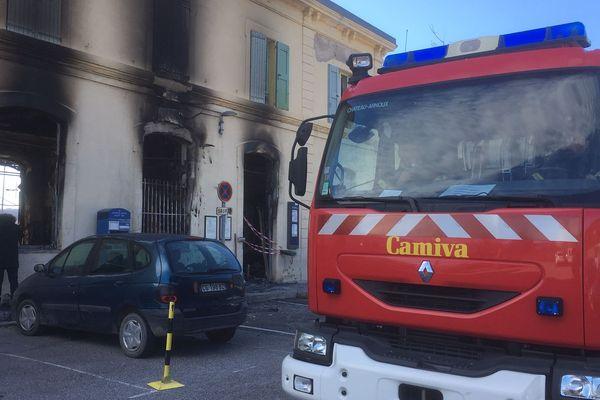 Gare SNCF de Château-Arnoux-Saint-Auban fermée après un incendie criminel cette nuit