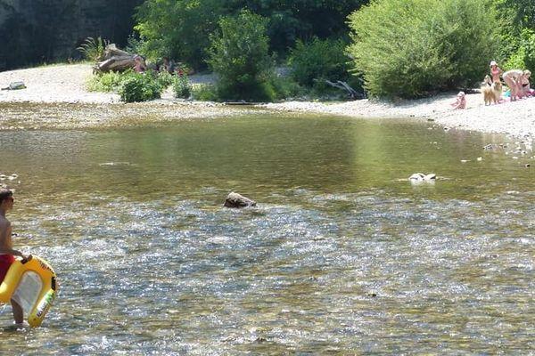 Les rives du Loup dans les Alpes-Maritimes