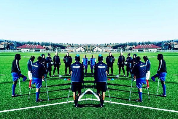 L'équipe de France de football des amputés